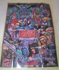 2001 Capcom Heavy Metal Geomatrix Poster