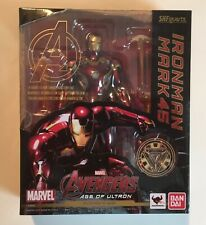 S.H. Figuarts Iron Man Mark 45 New MIB Authentic SHF Marvel Avengers Age Ultron