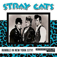 Stray Cats - Rumble In New York City Live At The Ritz 18/10/1988 Vinyl LP