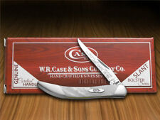 CASE XX Slant Series White Pearl Small Toothpick 1/2500 Pocket Knife Stainless