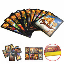 1 set Read Fate Lenormand Oracle Cards Mysterious Fortune Tarot Cards Game
