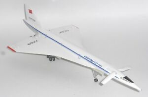 Tupolev Tu-144 Aeroflot Historic Aircraft Models Diecast Model Scale 1:200 J
