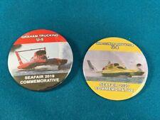 Seafair Boat Club'S 2019 & 2020 Commemorative Hydroplane Button Pins