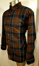 Pendleton Mens Heavyweight Button Front Shirt Size  extra large XL 100% Wool