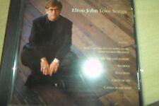 """CD: """"Love Songs"""" Elton John"""