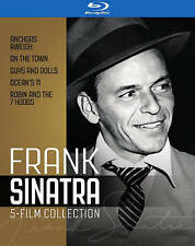 FRANK SINATRA COLLECTION~5 MOVIES ON 5 BLU RAY DISCS~ NEW~DEAN MARTIN~GENE KELLY
