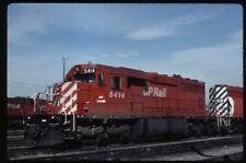 35mm slide CPR CP Rail EMD SD40 5414 Agincourt ON Canada 1989 original