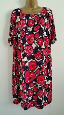 Marks and Spencer Knee Length Tunic Floral Dresses for Women