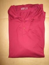 Mens Nike Fit Dry Golf athletic collared polo shirt Xl