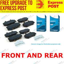 TG Front and Rear Brake Pad Set DB1286-DB1163 fits Honda Jazz 1.5 i