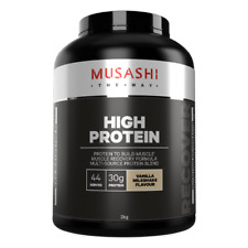 MUSASHI High Protein Powder  2kg  33 Serves