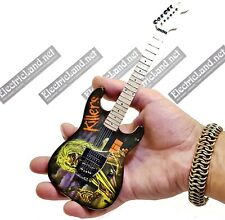 Mini Guitar scale 1:4 IRON MAIDEN Killer album miniature rock gadget collectible