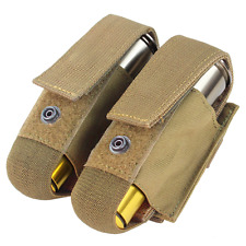 Condor OD Tan Double M203 40mm Grenade Airsoft Launcher Shell Pouch Ma13-003