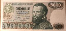 5000 Francs Vesalius 22/06/77! Zeer mooi biljet!!