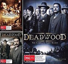 DEADWOOD Complete Series : SEASONS 1 2 3 : NEW DVD