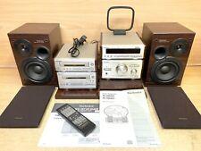 Technics Sl-HD501 RS-HD501 ST HD501 SE HD501 & STAND FULLY WORKING HI FI SYSTEM
