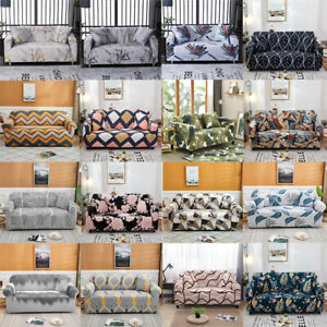 Stretch Sofa Covers 4 Seater Set Slipcovers Couch Cover Chair for Living Room