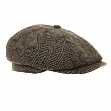 Cappelli da uomo grigie in misto lana