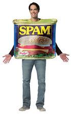 Get Real Spam Food Adult Costume Oversize Printed Tunic Halloween Rasta Imposta