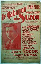 Partition alt partitur sheet music = Georgel - Le cabanon de Suzon