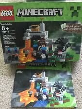 Gift idea! LEGO Minecraft The Cave (6092417) 100% complete!
