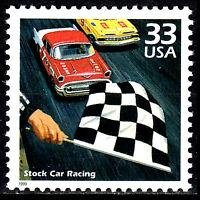 USA postfrisch MNH Stock car Racing Motorsport Rennwagen Auto Oldtimer 1999 / 16