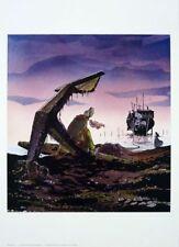Affiche Offset Passagers du vent (Les) Le Ponton P & T Productions