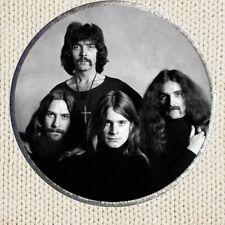 Black Sabbath Patch Picture Embroidered Border Ozzy Osbourne Rock Tony Lommi