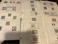 Korea Stamp S/S And Stamps (6 Sheets)