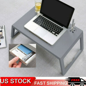 Home Laptop Table Ulrlight Computer Desk Sutdy Working Tray W/Drawer Cup Holder