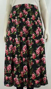 Women`s Long skirt back elasticated waist printed.Plus sizes (14-32)