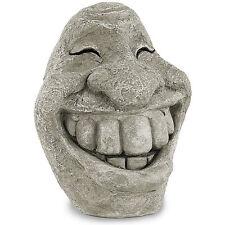 """Royal Gardineer Gartenfigur: Steingesicht """"Smiley"""" (Statue, Büste)"""