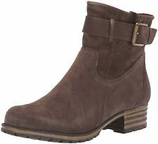 Clarks Womens Marana Leather Almond Toe Ankle Fashion, Taupe Suede, Size 7.0 1DB