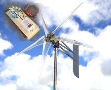 "Kt Ghost 12 Vac 3-Ph Wind turbine 74"" 5 Blade 6.4kw 1695W Free G4 Controller ""N"""