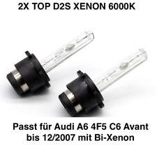 2x D2S 6000K 35w Xenon Ersatz Brenner Audi A6 4F5 C6 Avant bis 12/2007