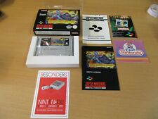 SNES Nintendo, SUPER GHOULS´N GHOSTS - OVP - TOP - PAL