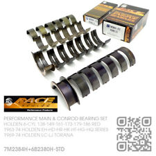 ACL RACE MAIN/CONROD BEARINGS STD SIZE 138-161-173-186 RED [HOLDEN LC-LJ TORANA]