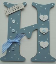 Hearts Personalised *ANY LETTER & NAME* kids Room Door Sign Plaque (dance hall)