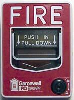 GAMEWELL FCI- MS-7LOB - Outdoor Manual Pull Station (Dual Action)