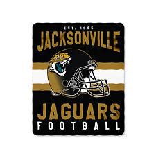 "New Style Football Jacksonville Jaguars Fleece blanket Soft Throw 50"" x 60"""