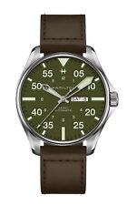 New Hamilton Khaki Pilot Schott NYC Limited Edition Men's Watch H64735561