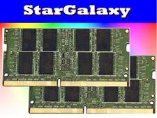 32GB 2x 16GB DDR4 2133MHz PC4-17000 Sodimm Laptop Notebook RAM Memory Kit 260Pin