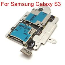 Newest For Samsung Galaxy S3 i9300 Sim Memory Card Reader Tray Slot Holder Flex