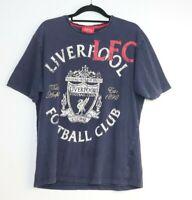 Liverpool Football Club LFC Men's Blue T-Shirt Size L