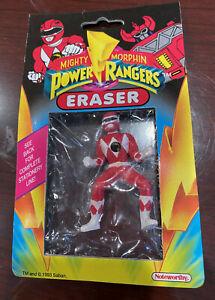 Mighty Morphin Power Rangers - Red Ranger Eraser