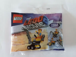 Brand New Lego - Mini Master Building Emmet 3in1 - 30529 - The Lego Movie 2