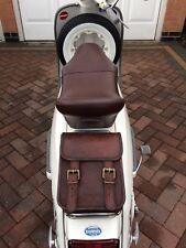 Lambretta brown leather sprint rack bag not ulma vigano