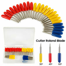 25 Pcs 30 45 60 Degree Roland Cricut Cutting Plotter Vinyl Cutter Knife Blades