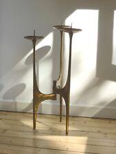 3-armiger Kerzenleuchter aus Bronze/Bodenleuchter/Candleholder H:70cm,ø 37cm,9kg