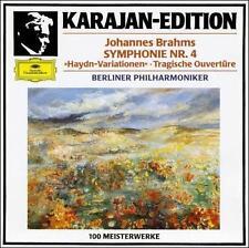 Von Karajan - Brahms: Symphonie No. 4; Haydn-Variationen (CD, DG Germany Import)